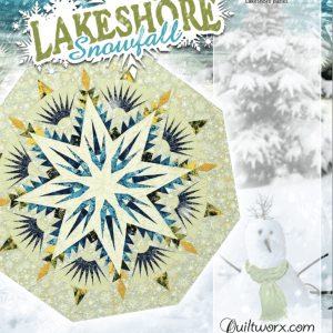 Lakeshore Snowfall Tree Skirt / Table Topper