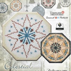 Celestial Snowfall Tree Skirt/Table Topper