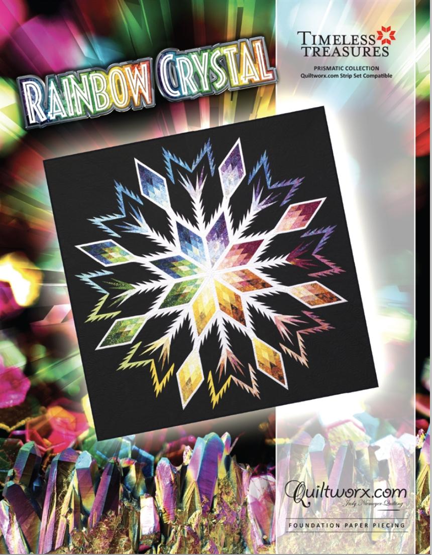 JudyQ Block Rainbow Crystal