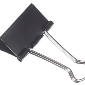 Binder Paper Clips, Medium, Box, 12 clips