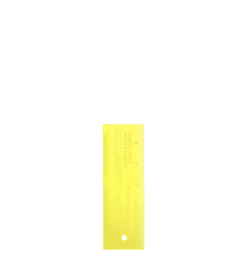 "Add-A-Quarter Plus - 6"" Yellow"