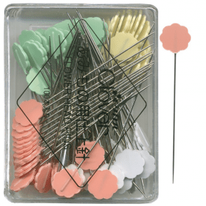 Clover, Flower Head Pins, Boxed, 100 pack