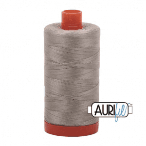 Aurifil Mako Cotton Thread 50wt 1422yds Stone #2324