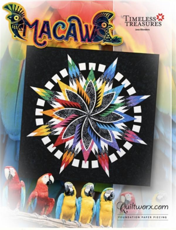 Quiltworx Macaw Pattern